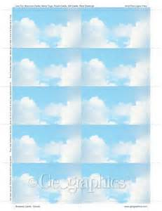 geographics business card template clouds business cards 2 x3 5 quot