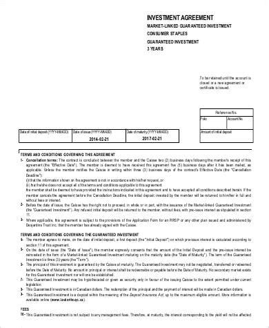 63 Sle Agreements In Pdf Sle Templates Guaranteed Investment Contract Template