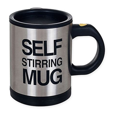 Self Mug Stirring self stirring mug bed bath beyond