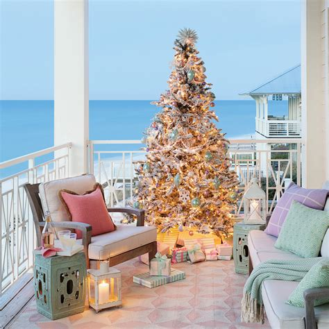 coastal xmas decor home tours swoon worthy house tour coastal living
