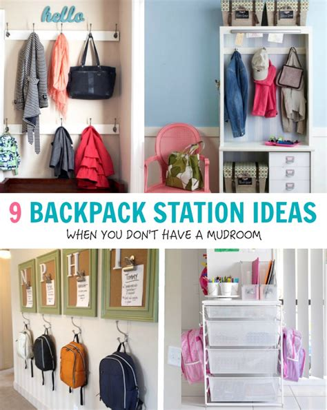 backpack storage solutions backpack storage solutions 8 best mobile coat rack