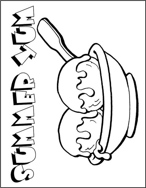ice cream dish coloring page free cartoon ice cream sundae download free clip art