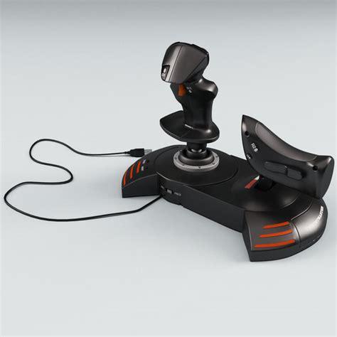 Logitech 3d Pro Fe Joystick Flight Pad Flight System Joypad joystick thrustmaster t flight 3d model