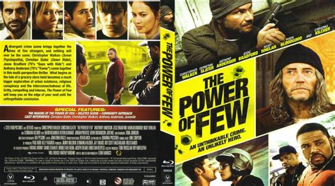 The Power Of Few 2013 Film The Power Of Few Movie Blu Ray Custom Covers The Power