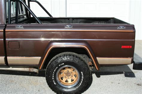 jeep j10 golden eagle 1978 jeep j10 golden eagle pickup