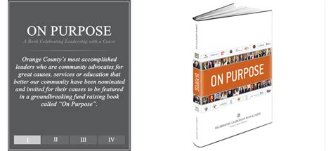 on purpose books on purpose project