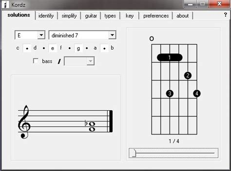 Chord Lookup Kordz Free Guitar Chord Finder