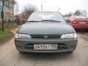 Toyota Corolla Hatchback 1993 1993 Toyota Corolla Pictures 1500cc Automatic For Sale