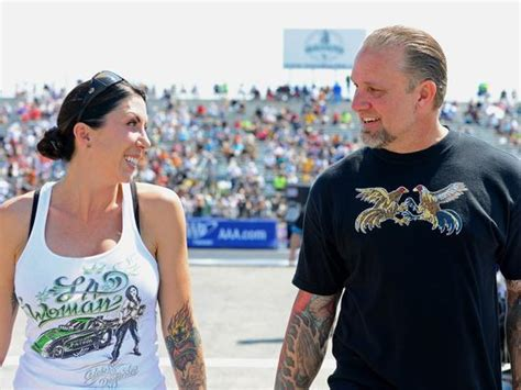 jesse james finds love with drag racer alexis dejoria