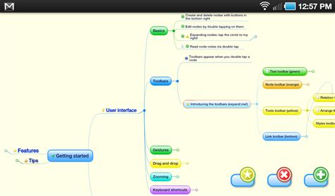 Mind Mapping for Android With Thinking Space   Gigaom
