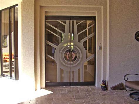 All Glass Door Contemporary All Glass Doors Create A Sleek Entrance Sans Soucie Glass