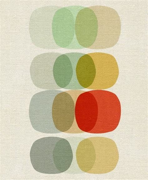 simple modern paintings keep it simple circle reproduction giclee print