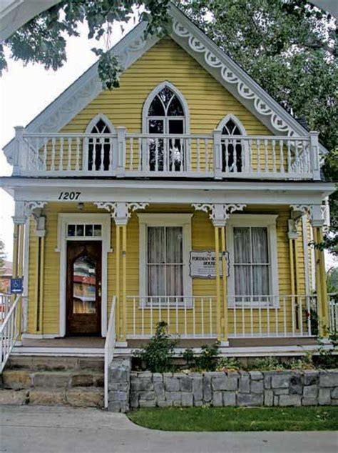 gothic revival house gothic revival yellow and orange pinterest
