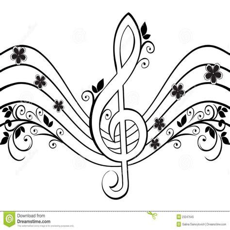 bordes para notitas colouring pages dibujo notas musicales para colorear imprimir