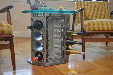 Engine Block Coffee Table Bmw Photo Gallery