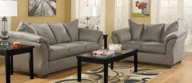 Livingroom Funiture Buy Ashley Furniture 7500538 7500535 Set Darcy Cobblestone