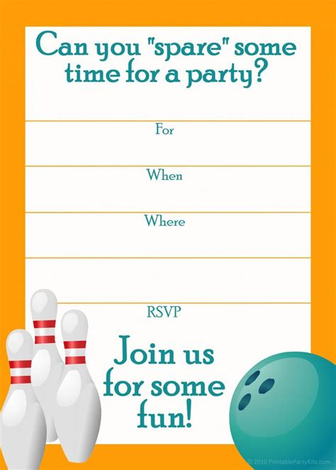 free online party invitation template typeform