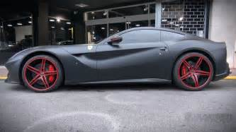custom matte black f12 loud acceleration