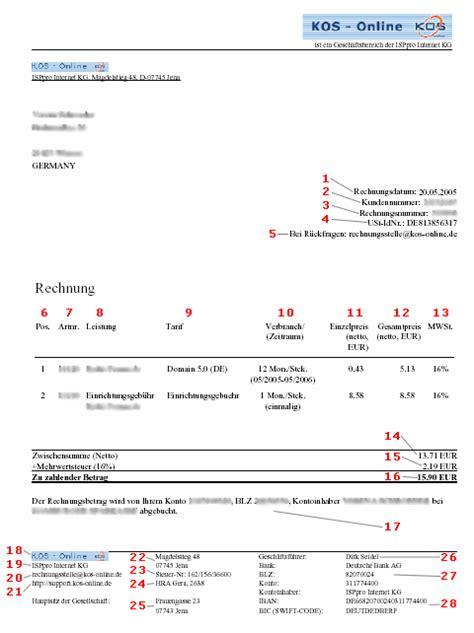 Rechnung Kleinunternehmer Iban 8 Rechnung Iban Resignation Format