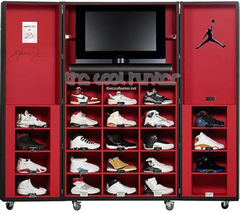 michael jordan bedroom decor pinel pinel air jordan sneaker trunk safe storage air