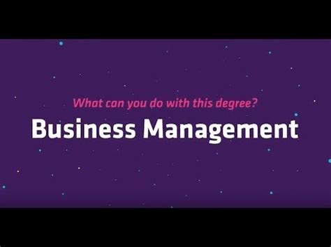 What Can You Do With An Mba Administration Concentration Degree by What Can You Do With A Business Management Degree
