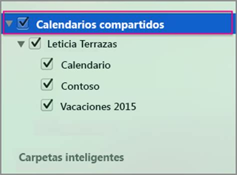 Calendario Compartido Abrir Un Calendario Compartido De Exchange En Outlook 2016