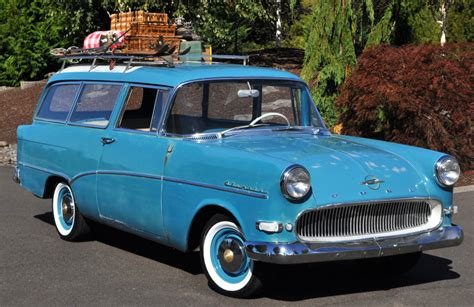 opel rekord station wagon rare wagon 1959 opel olympia rekord