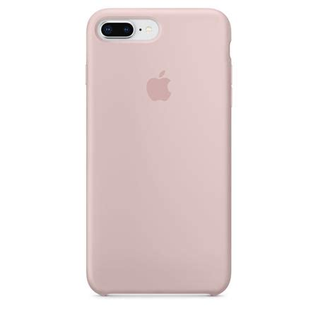 apple silicone case  iphone     pink sand