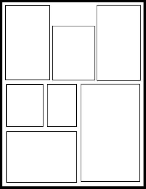printable manga templates smt 43 by manga template on deviantart