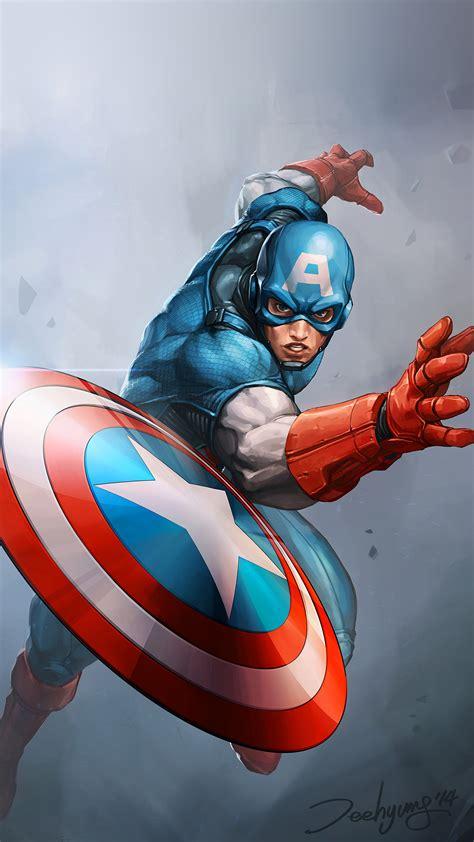 papersco iphone wallpaper au hero captain america