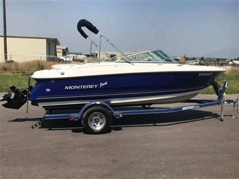 monterey bowrider boats for sale 2006 used monterey 180fs bowrider boat for sale 14 800