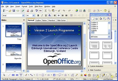 Open Office Powerpoint by 301 Moved Permanently