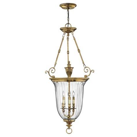 traditional inverted ceiling pendant lantern gold frame