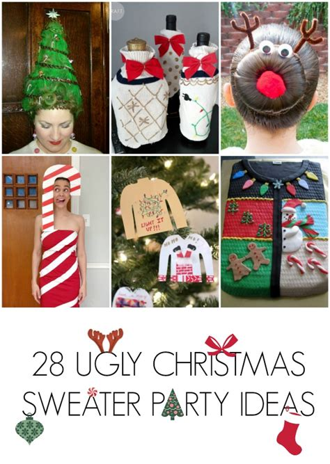 28 ugly christmas sweater party ideas c r a f t