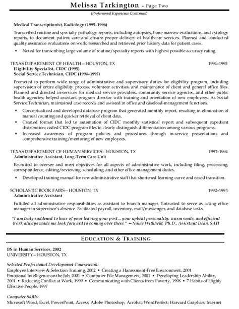 Health Resume by Search Results For Health Services Resume Sle