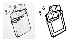 How To Draw Bar How To Draw Bar Chocolate Bar Drawing Clipart