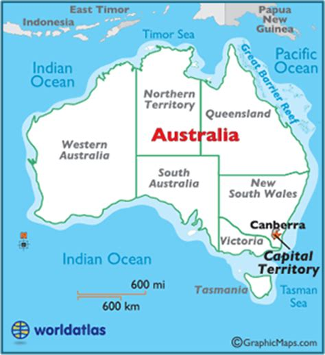 australia map with capital cities capital territory map geography of capital territory