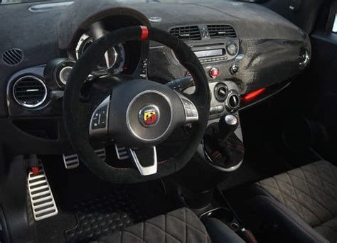 500 abarth interni fiat 500 abarth preparata da romeo ferraris