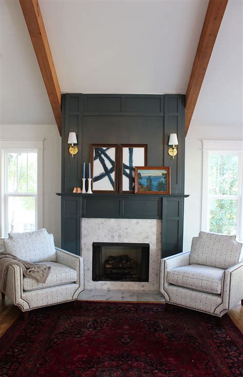 diy faux fireplace surround thewhitebuffalostylingco