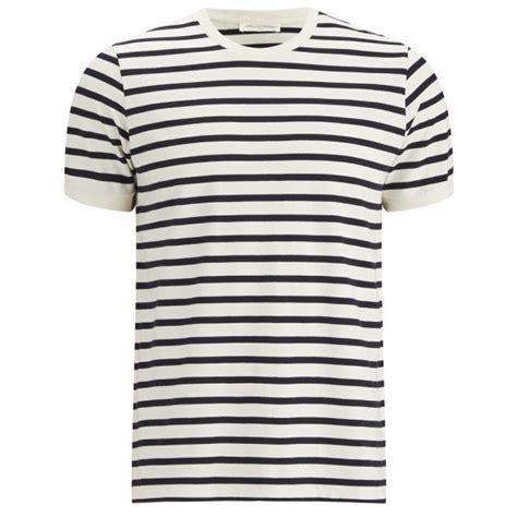 Kaos Kenzo Stripe american vintage s breton stripe t shirt navy free