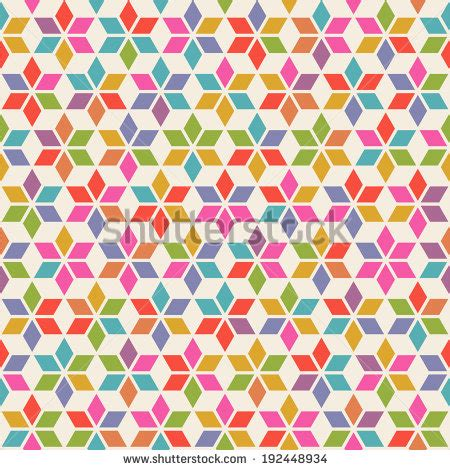 continuous pattern photography vector seamless pattern with geometric ornament color