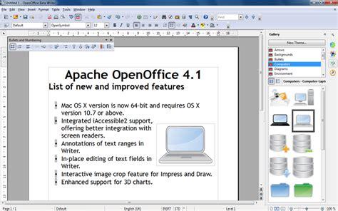 apache openoffice portable portableapps com portable software