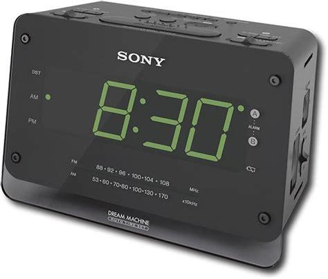 sony dual alarm am fm clock radio icf c414 best buy