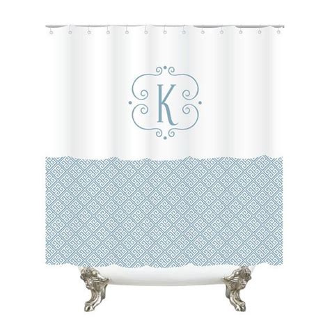 shower curtains with initials 1000 ideas about monogram shower curtains on pinterest
