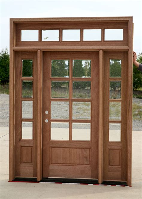 Exterior Door With Transom Exterior Doors With Sidelights And Transom