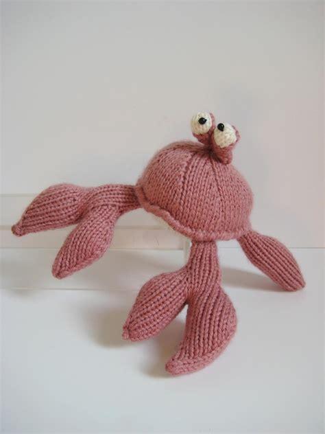 crab knitting pattern the crab knitting pattern on luulla