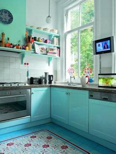 whim whimsy interior lust colorful kitchens cl 233 s de sols on pinterest tile floors and cuisine