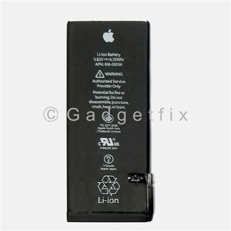 usa oem original genuine li ion battery replacement 1715mah for apple iphone 6s ebay