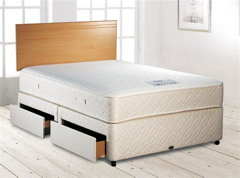 bed cost myers visco deluxe divan bed kingsize divan bed review