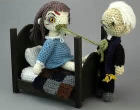 Dog Print Comforter Crochet Amigurumi Exorcist Playset